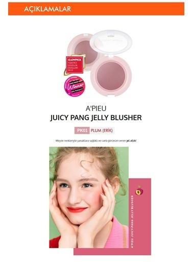 Missha Meyve Renkleriyle Doğal Görünümlü Jel Allık Apıeu Juicy-Pang Jelly Blusher (Pk01) Renksiz